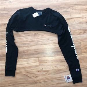 Very cropped Champion Long sleeve